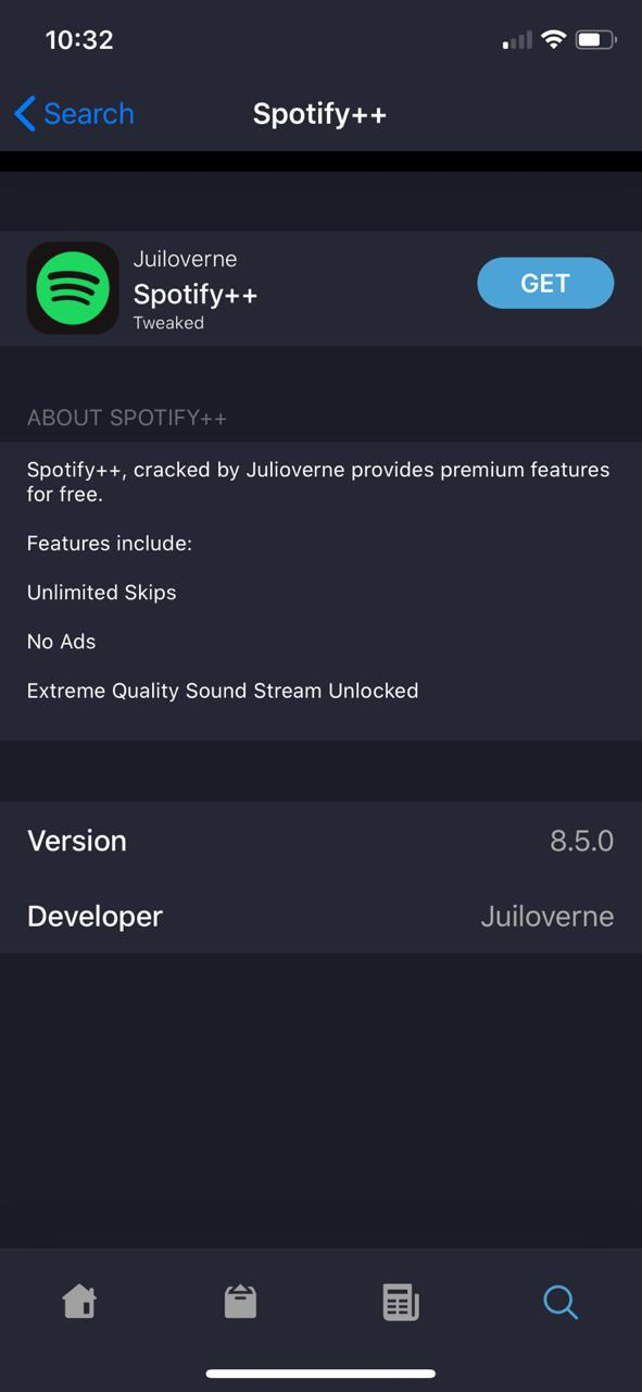 Spotify Premium For Free on iOS