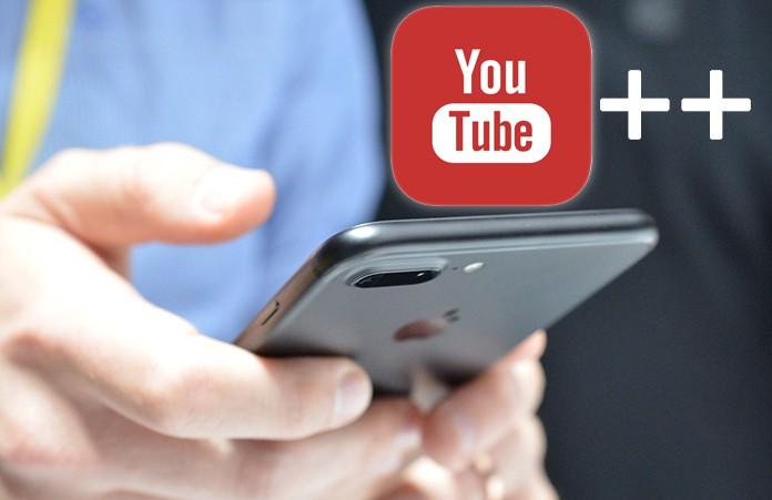 YouTube++ iOS Download on iPhone/iPad